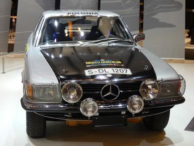 Mercedes grise